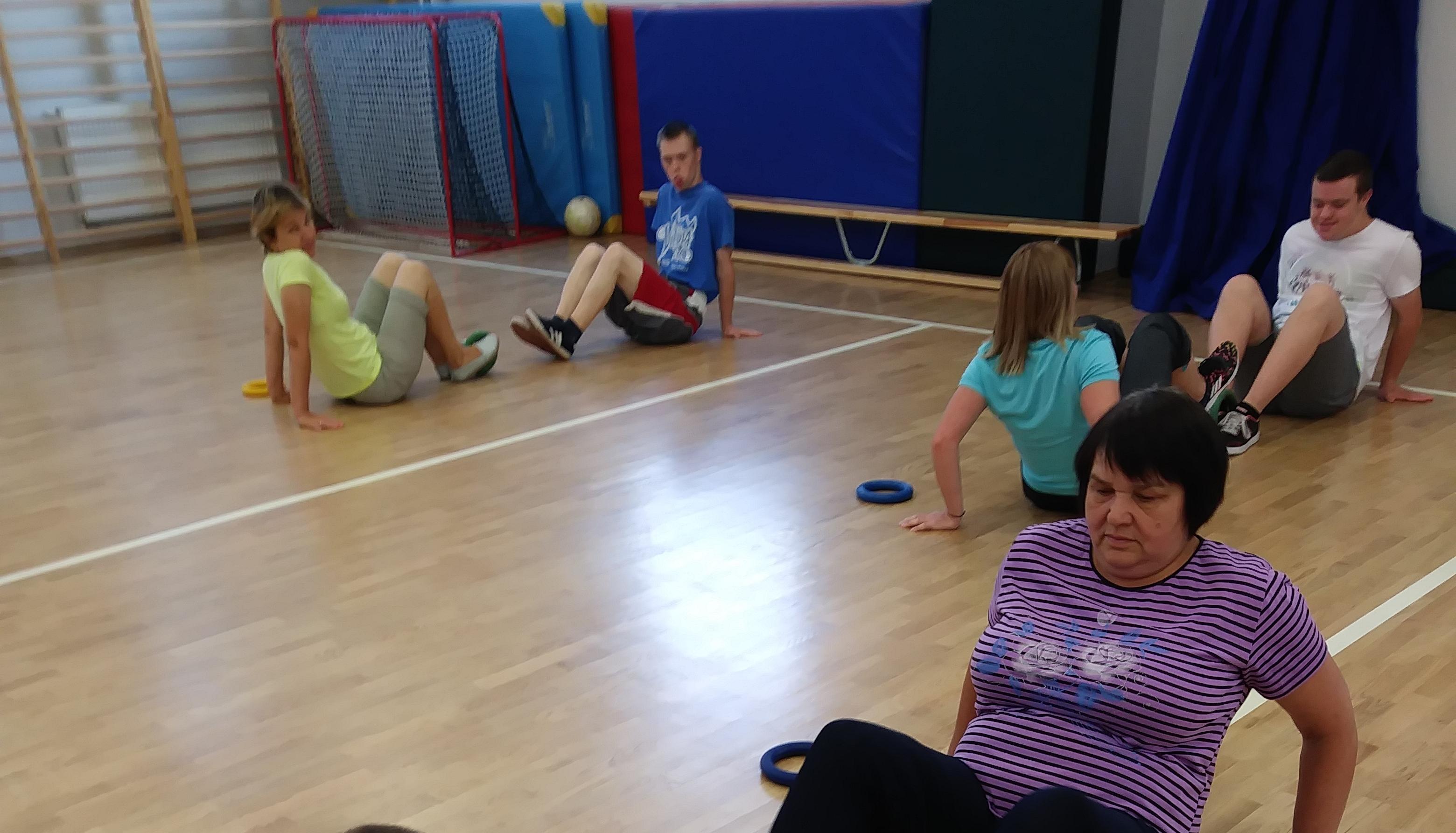 Zajęcia ruchowe dla dzieci z cyklu :'Razem łatwiej'