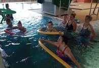 Zajęcia ruchowe na basenie 07-08.2020 r.
